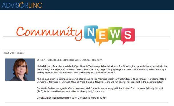aw community news